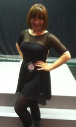 "My ""Dress like a current Broadway show"" outfit- Velma Kelly in <i>Chicago</i>!"