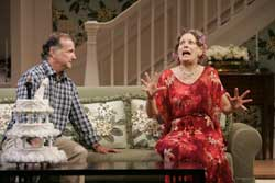 Mark Linn-Baker and Lizbeth Mackay in <I>One Slight Hitch</i>