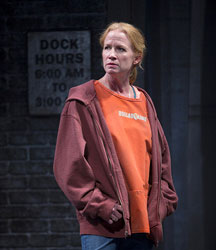 Johanna Day stars in the Huntington Theatre Company's current staging of <i>Good People</i>