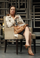 Laurie Metcalf in the Off-Broadway produc