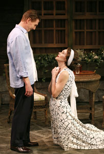 Byron Jennings and Carolyn McCormick in <i>Ten Chimneys</i>