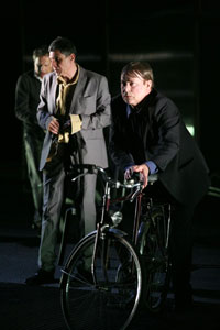 A scene from &lt;i&gt;Rhinoceros&lt;/i&gt;
