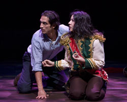 Rene Millan and Stephanie Beatriz in <i>American Night: The Ballad of Juan Jose</i>