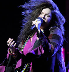 Mary Bridget Davies in <i>One Night with Janis Joplin</i>