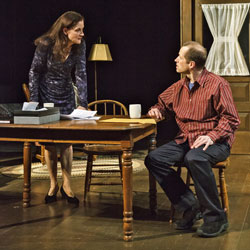 Hallie Foote and Tim Hopper in &lt;i&gt;Him&lt;/i&gt;