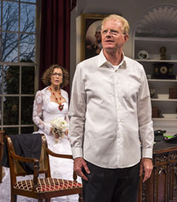 Felicity Huffman and Ed Begley, Jr. in <i>November</i>