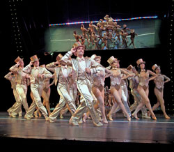 The company of <i>A Chorus Line</i>