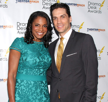 Audra McDonald and Will Swenson tied the knot on October 6