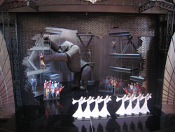 Set model for <i>King Kong</i>