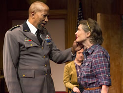 Reg E. Cathey and Annette O'Toole in <i>Heresy</i>