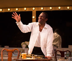 John Douglas Thompson in <i>Satchmo at the Waldorf</i>