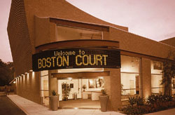 An outside view of The Theatre @ Boston Court