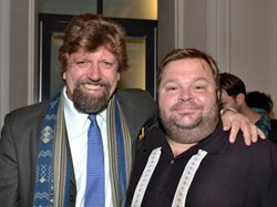 Oskar Eustis and Mike Daisey