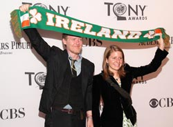 <i>Once</i> composers/lyricists Glen Hansard and Marketa Irglova at the 2012 Tony Awards