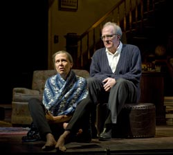 Amy Morton and Tracy Letts in <i>Who's Afraid of Virginia Woolf?</i>