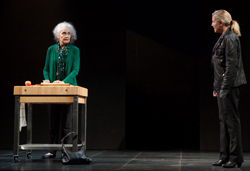 Mary Beth Peil and Mary McCann in <i>Harper Regan</i>