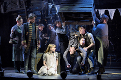 Celia Keenan-Bolger, Adam Chanler-Berat, and the cast of <i>Peter and the Starcatcher</i>