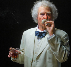 Val Kilmer in <i>Citizen Twain</i>