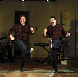 David Rossmer and Steve Rosen in <i>The Other Josh Cohen<