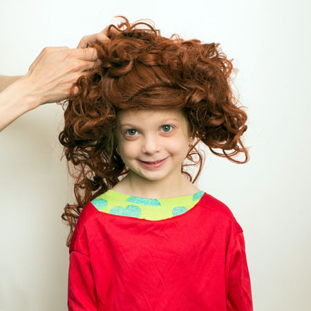 Broadways top do it yourself halloween costumes annie step 4 pin up and style the wig to your liking tristan fuge solutioingenieria Choice Image