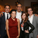 Jeff Goldblum, Hamish Linklater, Jerry O'Connell, Michael Urie Celebrate CTG's <i>Seminar </i>
