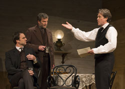 James Waterston, John Procaccino and Boyd Gaines in <i>An Enemy of the People</i>