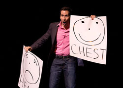 Returning host Seth Rudetsky at last year's <i>Gypsy of the Year</i> competition.