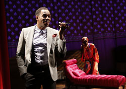 Colman Domingo and Sharon Washington in <i>Wild With Happy</i>