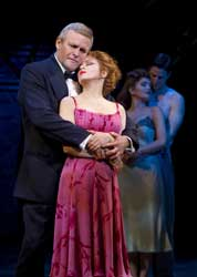 Ron Raines and Bernadette Peters in <I>Follies</i>