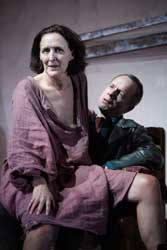 Fiona Shaw and Tim McInnerny in <I>Scenes From An Execution</i>