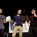 Photos of Darren Criss, Dean Geyer and More <i>Glee</i> Stars Promoting Arts Education in LA