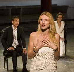 A scene from SITI Company's  <i>Trojan Women (After Euripides)</i>