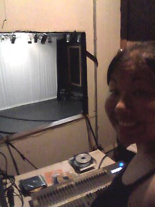 Me in the CEC's booth for tech