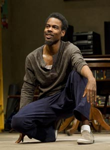 Chris Rock in the Broadway production of &lt;i&gt;The Motherf***er with the Hat&lt;/i&gt;