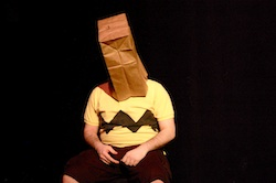 Stephen Markarian in <i>You're A Good Man Charlie Brown</i> at The Boston Conservatory.