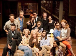 The cast of the University of North Carolina School of the Arts' production of <i>August: Osage County</i>