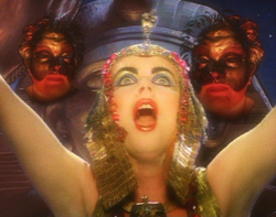 A moment from the original <i>Phantom of the Opera</i> music video.