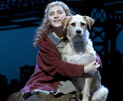 Lilla Crawford and Sunny in <I>Annie</i>