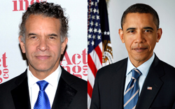 Tony Award-winner Brian Stokes Mitchell stars in the imaginary <i>Election 2012: The Musical</i> as newly reelected President Barack Obama.