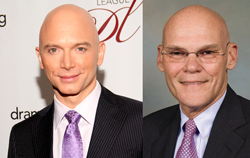 A late addition to the company of the imaginary <i>Election 2012: The Musical</i> is Tony Award-winner Michael Cerveris as political pundit James Carville.
