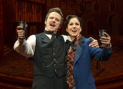 Will Chase and Stephanie J. Block in <i>The Mystery of Edwin Drood</i>
