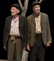 2012 Ovation Award-winners Alan Mandell and Barry McGovern in CTG's <i>Waiting for Godot</i>.