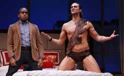 Daniel Breaker and Cheyenne Jackson in <i>The Performers</i>.