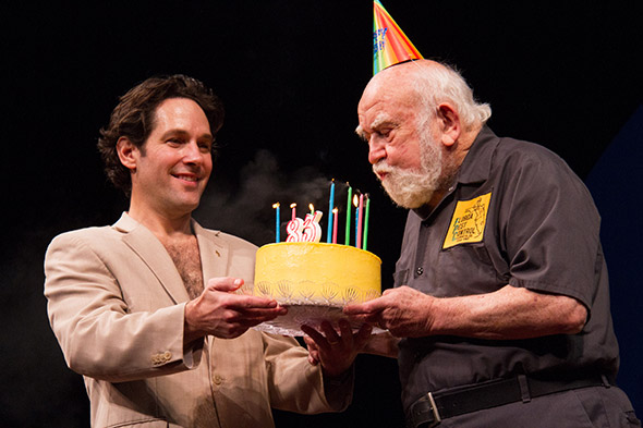 Birthday Bash Ed Asner Turns Quot 38 Quot On Stage At Broadway S