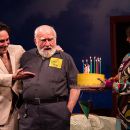 Birthday Bash: Ed Asner Turns &quot;38&quot; On Stage at Broadway's <i>Grace</i>
