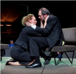 Janni Goslinga and Gijs Scholten van Aschat in &lt;i&gt;Roman Tragedies&lt;/i&gt;.