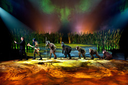 Promotional photo for Cirque du Soleil's <i>Totem</i>