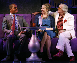 Daniel Breaker, Alicia Silverstone, and Henry Winkler in <i>The Performers</i>.