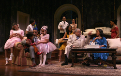 The Pollitt family gathers to celebrate Big Daddy's birthday in the 2008 revival of Tennessee Williams' Pulitzer Prize-winning <i>Cat on a Hot Tin Roof</i>.