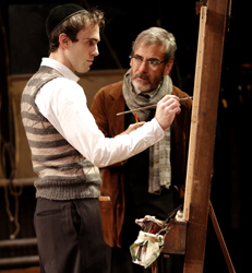 Ari Brand and Mark Nelson in <i>My Name is Asher Lev</i>